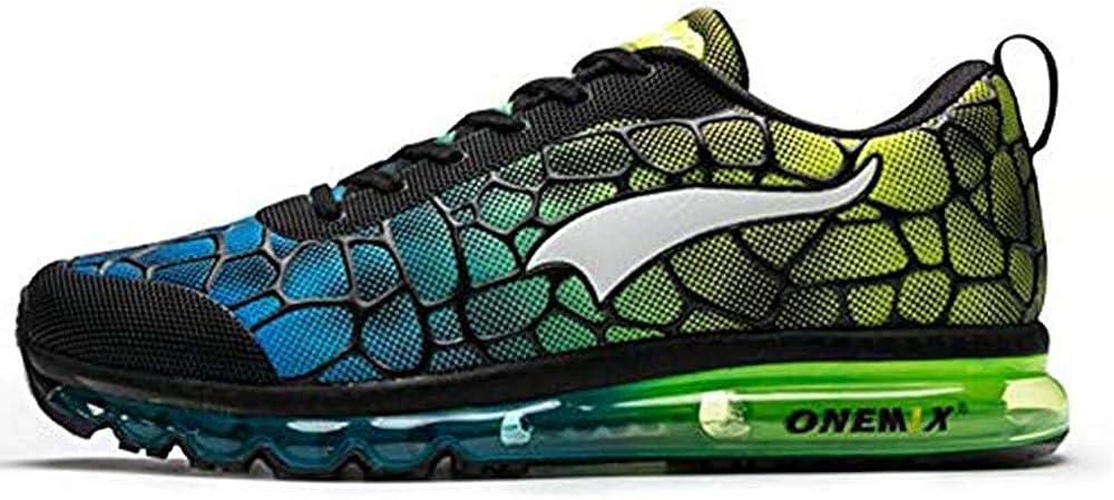 ONEMIX Zapatos Casuales para Hombre Camisas atléticas colchón de Aire Gimnasia Deportes Fitness Entrenadores Zapatillas de Deporte: Amazon.es: Zapatos y complementos