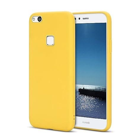 SpiritSun Funda Huawei P10 Lite, Suave Silicona Carcasa ...