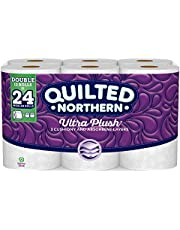 Quilted Northern Ultra Plush® Toilet Paper, Double Rolls, 12 Count of 176 3-Ply Sheets Per Roll