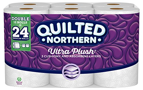 Quilted Northern Ultra Plush® Toilet Paper, Bath Tissue, 12 Count