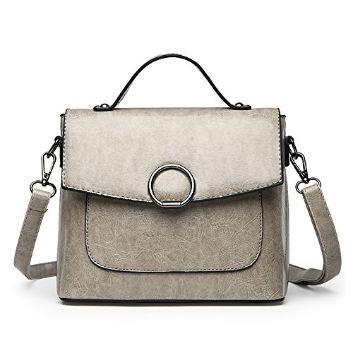 Cute Womens Handbag Body Bag Small Tibes Shoulder Xlight Cross Modern Grey qYx4ngX