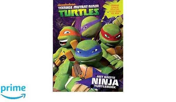 Het grote ninja turtleboek (Ninja Turtles): Amazon.es: Peter ...