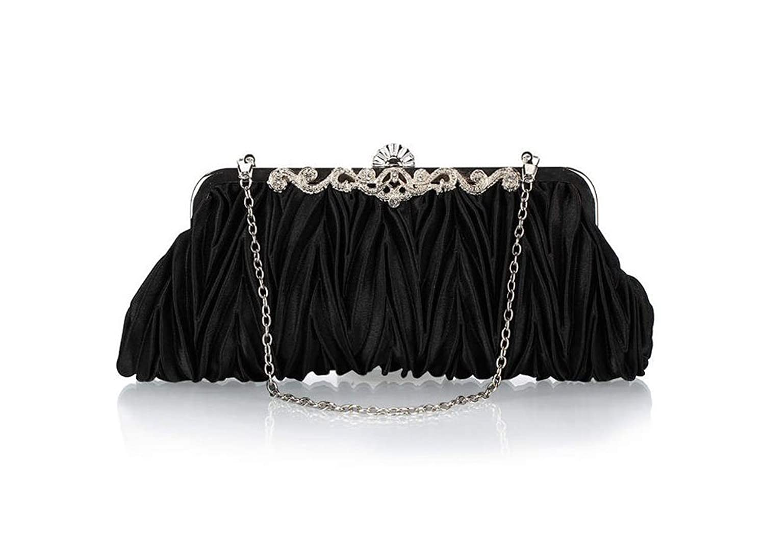1930s Handbags and Purses Fashion Bundle Monster Womens Vintage Satin Envelope Evening Cocktail Party Handbag $13.98 AT vintagedancer.com