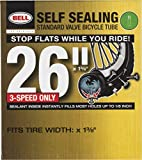 Bell Self Sealing Inner Tube, Black, 26 x 1 3/8-Inch
