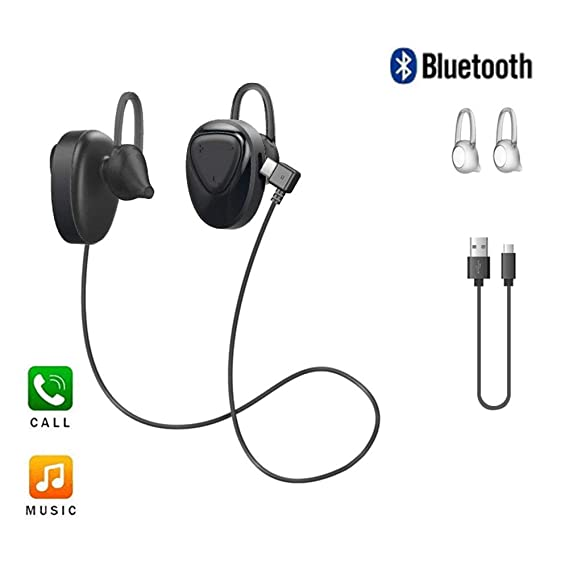 9a3440fe2bf Image Unavailable. Image not available for. Color: Wireless Earbuds, 8  Hours Long Battery Life Headphones Noise Cancelling Bluetooth ...