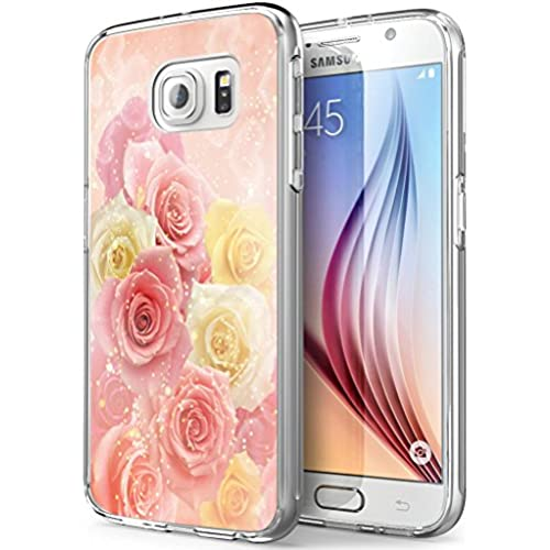 S7 Active Rose,Gifun Soft Clear TPU [Anti-Slide] and [Drop Protection] Protective Case Cover for Samsung Galaxy S7 Active W Dreamlike Rose Pattern Sales