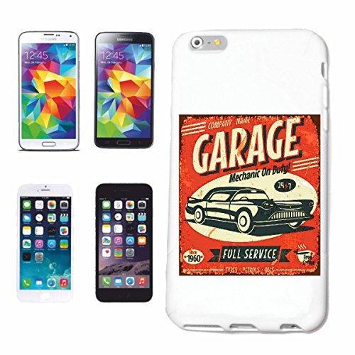 """cas de téléphone iPhone 7S """"MÉCANICIEN GARAGE Autowerkstatt MOBILE MECHATRONIC SERVICE AUTO HOT ROD CAR US Mucle CAR V8 ROUTE 66 USA AMÉRIQUE"""" Hard Case Cover Téléphone Covers Smart Cover pour Apple i"""
