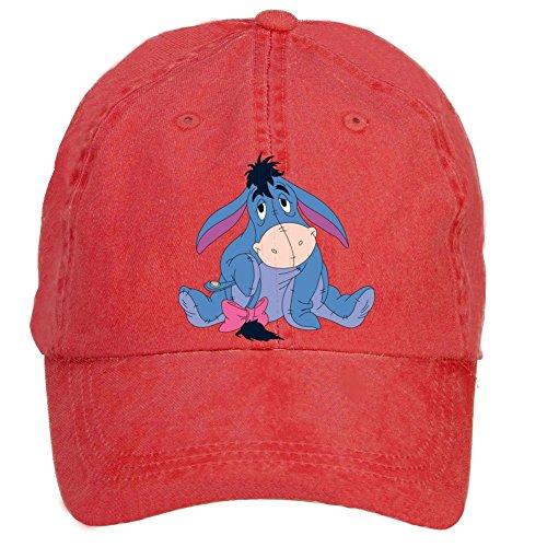 Tommery Unisex Eeyore Hip Hop Baseball Caps
