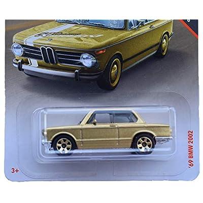 Matchbox Super Fast 50th Anniversary '69 BMW 2002, Gold: Toys & Games
