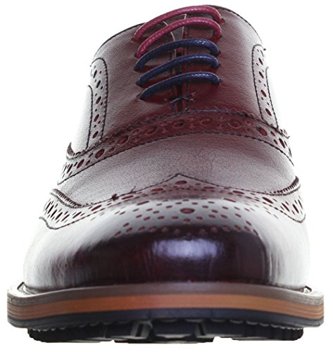 à Chaussures Bordeaux Reece Oliver pour Ville de Homme Justin Lacets EBXwpn4qpW