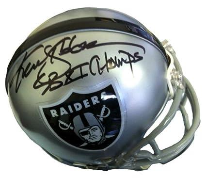 dfbef332cbb Ken Stabler  quot The Snake quot  Autographed Signed Oakland Raiders  Riddell NFL Mini Helmet