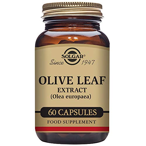 Solgar – Standardized Full Potency Olive Leaf Extract, 60 Vegetable ()