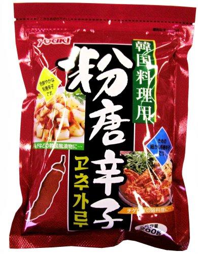 Organic food powder pepper (for Korean food) 200g