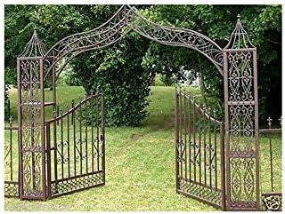 Gran Portal decorativo puerta arco de jardín separación cerca ...