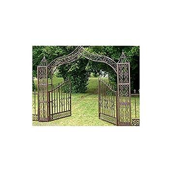 Grand Portail Dcoratif Porte Arche De Jardin Sparation Clture En