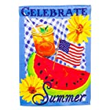 Cheap Celebrate Summer Vertical Flag