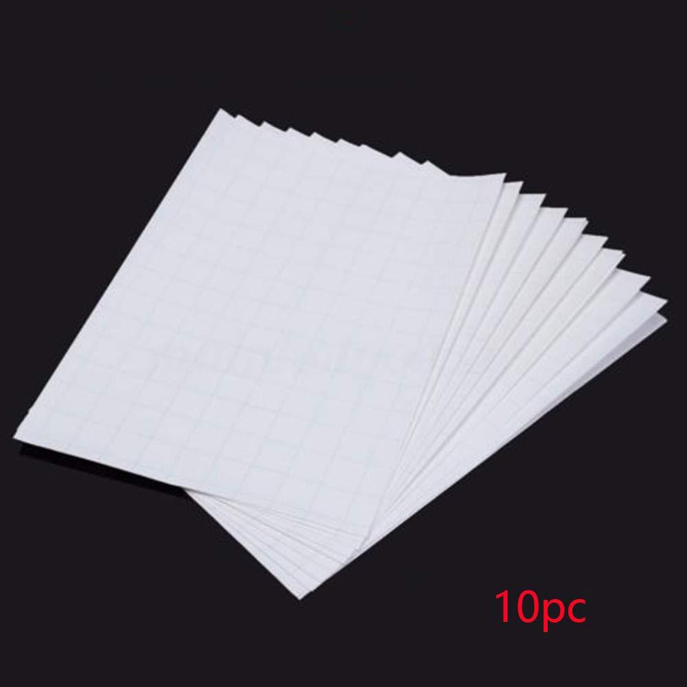 Ghair2/A4/Heat Transfer Paper Colore Luce Carta A4/Ferro 10PCS trasferimento Luce Tessuto Termico per stampanti a Getto d Inchiostro