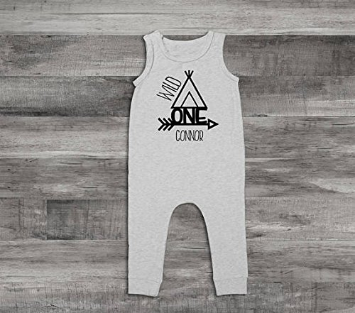 Amazon Baby Boy Clothes Wild One Birthday Outfit Romper Outfit1st OutfitFirst First Jumpsuit