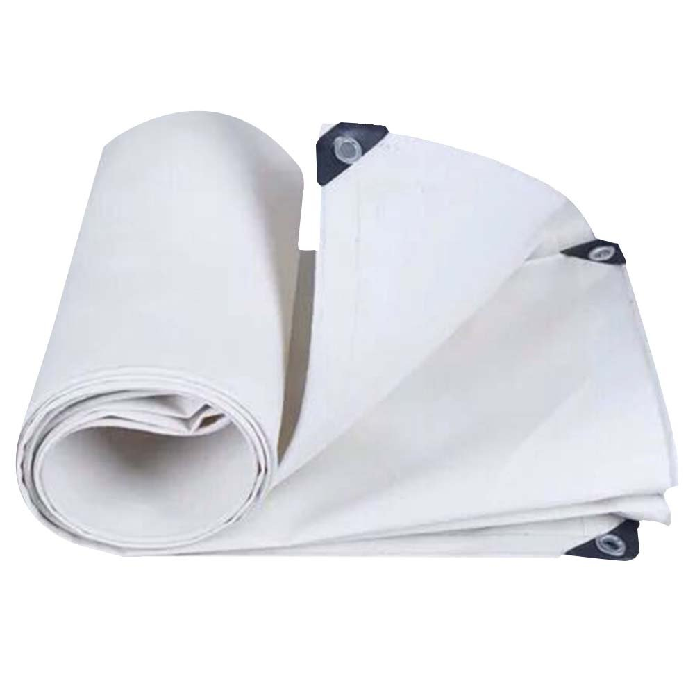 LIXIONG オーニング テント 屋外 日焼け止め 防水 通気性のある 断熱 トラック倉庫 抗UV 、15サイズ 、600G /㎡ (色 : 白, サイズ さいず : 1.9x1.9m) B07FYNWWGP 1.9x1.9m|白 白 1.9x1.9m