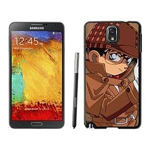 Grace Protective Detective Conan 4 Black Samsung Galaxy Note 3 Case