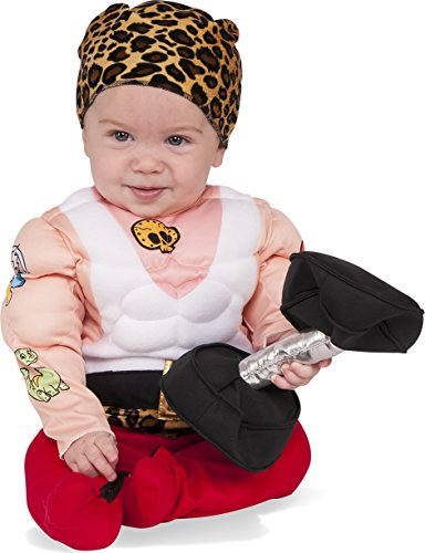 Rubie's Baby Muscleman Costume, As As Shown, Toddler ()