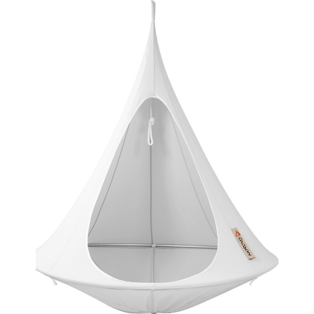 Cacoon Single Hanging Hammock | Light Grey by Cacoon