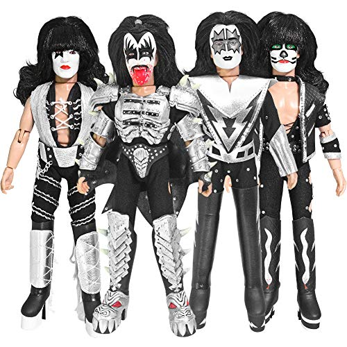 KISS 8 Inch Action Figures Series Four Monster: Set of Four LOOSE Figures ()