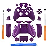 Cheap YICHUMY Replacement Purple Matte Controller Housing Shell Full Set Faceplates Buttons for Xbox One Controller with 3.5 mm Jack Xbox One Controller Full Buttons Set,Only For 3.5MM Port Controller