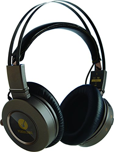PENDULUMIC STANCE S1+ Wireless Headphone–Audiophile Sound With The Freedom Of Bluetooth 4.0 aptX (Over Ear Design, Amp, Phone Control, 30-hr. Battery Life) Review