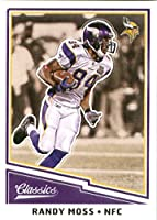 2017 Panini Classic #198 Randy Moss Minnesota Vikings Football Card