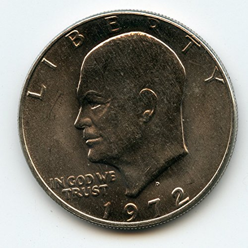 1972 D Eisenhower Dollar MS-65