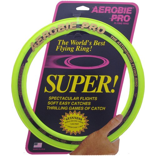 Aerobie Superflight Pro Flying Ring, Yellow by Aerobie