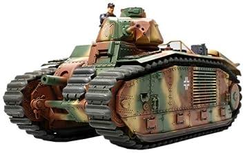 Tamiya B1 bis (German Army) - Maqueta Para Montar Tanque B1 ...