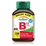 Best B12 Supplements - Jamieson Laboratories 7957 Vitamin-B12 1,000mcg Value Supplement, 150-Count Review