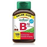 Jamieson Vitamin-B12 1,000mcg Value Size, 150-Count