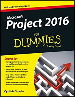 Book Microsoft Project 2016 for Dummies
