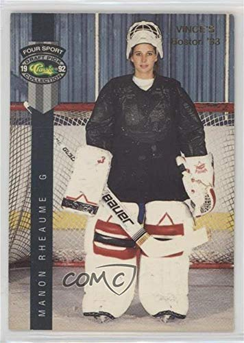 Manon Rheaume (Trading Card) 1992 Classic Four Sport Draft Pick Collection - Promos - Gray Stripe #224