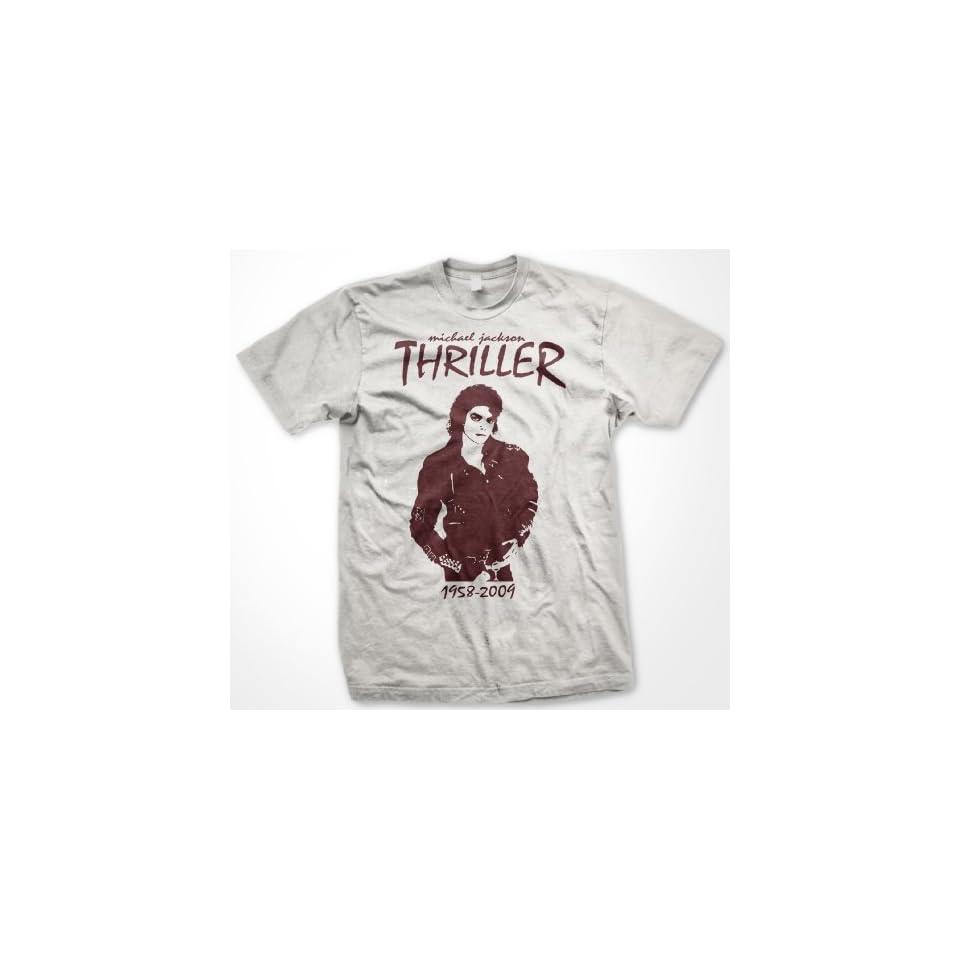 Michael Jackson Thriller Memorial T Shirt (Mens and Womens)