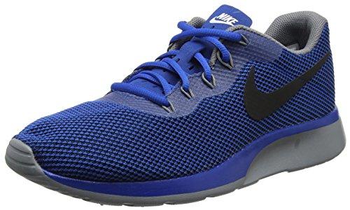 Nike Mens Tanjun Racer Blue Jay Black Wolf Grey Size 10 5