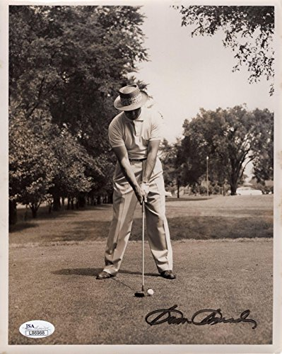 Sam Snead Signed Photograph - 8x10 VINTAGE AWESOME+RARE LEGEND - JSA Certified - Autographed Golf Photos (Autograph Certified 8x10 Photo Golf)