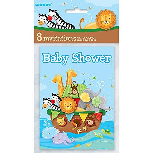 zebra baby shower invitations - 7