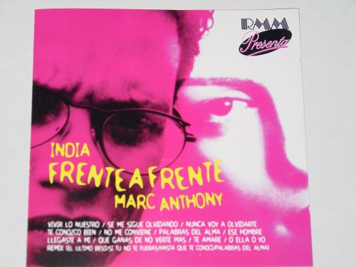 Marc Anthony - Cd Salsa India Frente A Frente Mar Anthony - Zortam Music