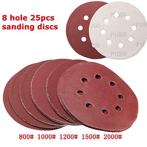 1000 grit sandpaper disc - 9