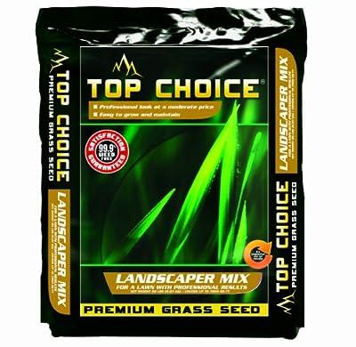 Top Choice 17624 3-Way Perennial Ryegrass Grass Seed Mixture, 20-Pound