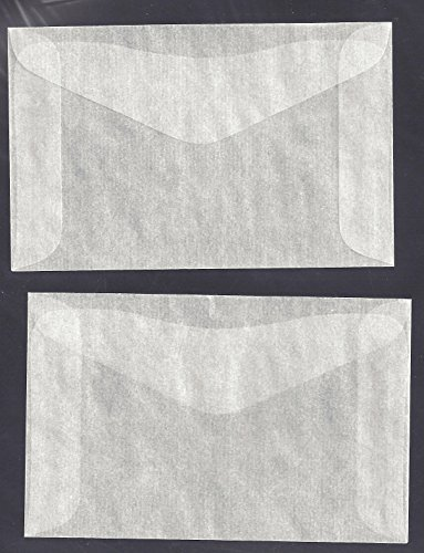 Glassine Envelopes - 6
