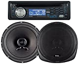 BOSS AUDIO 647CK Package Includes 637UA Single-Din CD AM/FM CD Receiver With USB Port Plus one Pair of 6.5 inch Speakers