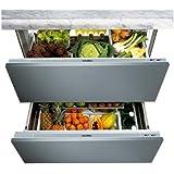 Scholtes RT 19 AAI Réfrigérateur 2 portes intégrable 150L Classe: A+ Inox