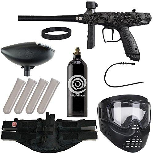 Action Village Tippmann Epic Paintball Gun Package Kit (Gryphon) (Skull) ()