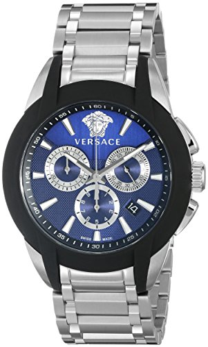 Versace-Mens-VQN050015-Character-Stainless-Steel-Chronograph-Watch