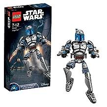 Lego Star Wars building double figures Jango Fett 75 107